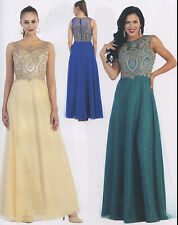Lace/Chiffon Long Mother Of The Bride/Groom Gown Formal Dress Party Evening 6~20