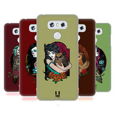 HEAD CASE DESIGNS RAGAZZE E GUFI COVER RETRO RIGIDA PER LG TELEFONI 1