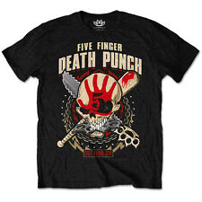 Official T Shirt FIVE FINGER DEATH PUNCH ~ Zombie Killer All Sizes Tee NEW ROCK