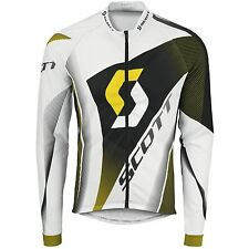 Scott Langarm Trikot RC Pro Shirt white/yellow rc