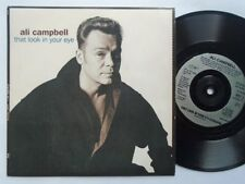 "Ali Campbell That Look In Your Eye 7"" Kuff KUFF1 EX/EX 1995 picture sleeve, That"