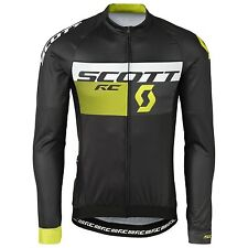 Scott Radtrikot Shirt RC Pro l/sl black/sulphur yellow 2016