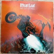 Meat Loaf. Bat out of Hell. LP.