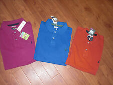 BNWT MENS JOULES WOODY CLASSIC ORANGE POLO TOP SHIRT SIZE S.RRP £32.95