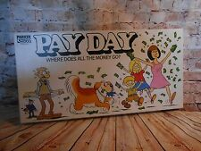 PAYDAY BOARD GAME 1982 SPARES