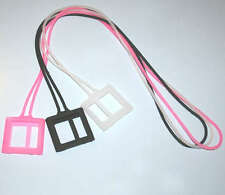 Necklace Chain Style Silicone case cover Strap for iPod Nano 6G Pink White Black