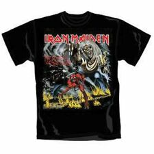 Iron Maiden T Shirt Number of The Beast Official All Sizes Black NOTB New Tee