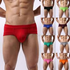 Fashion Men Boys Underpants knickers Sexy Men's Boxer Briefs Shorts Underwear