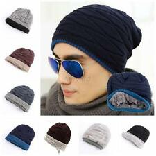 Vouge Unisex Men Women Hip-Hop Warm Winter Knit Ski Skull Cap Wool Hat Colorful