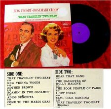 LP Bing Crosby & Rosemary Clooney That Travelin Two-Bea