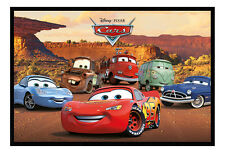 Disney Pixar Cars Characters Magnetic Notice Board Inc Magnets