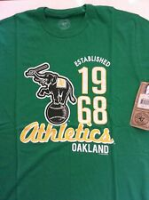 NBA GENUINE LICENSED - NEW OAKLAND ATHLETICS GREEN T-SHIRT SIZES S TO XL
