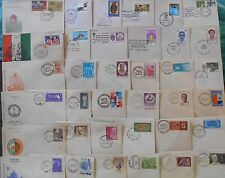 78 ALL DIFFERENT Covers SELECTION - Fdc First Day Cover with Cancellation india
