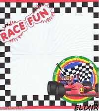 3 SERVIETTES EN PAPIER FORMULE 1 VOITURE DE COURSE 3 PAPER NAPKINS RACING CAR