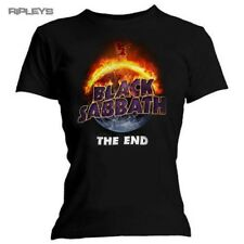 Official Skinny BLACK SABBATH T Shirt Top THE END Album Logo All Sizes