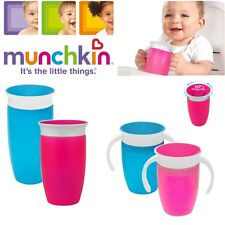 Munchkin Baby Miracle Non-Spill 360° Seal Proof Valve Toddler Trainer Cup +6-12m