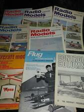 VINTAGE RADIO CONTROL MODELS MAGAZINE 1960s/70s & Others CHOOSE FROM SELECTION