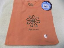"LIFE IS GOOD  Women's Good Vibes Tee ""Open Your Soul"" Size XS,S NWT@ $30"