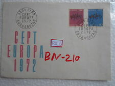 SWITZERLAND HELVETIA - FDC - EUROPA - 2 STAMPS Definitives - 1972 -  fz013