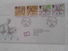 GB UK - MAPS 1991 - FDC - uk047