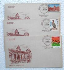 3 ALL DIFFERENT SPECIAL COVERS SET - 1990 World Spice Congress Bangalore - india