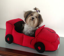 Auto come Letto per cani MAGIC RED LINEA dogszone.de Cabrio per cani