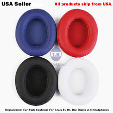 Replacement Ear Pads for Beats by Dr. Dre Studio 2.0 Wired & Wireless Headphone