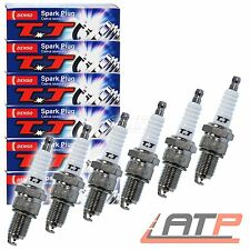 6X DENSO SPARK PLUGS TWIN TIP CHRYSLER FORD LANCIA MERCEDES-BENZ