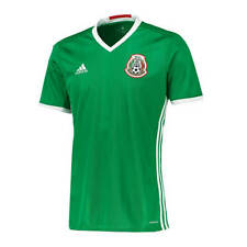 *16 / 17 - ADIDAS ; MEXICO HOME SHIRT SS / SIZE = ADULTS