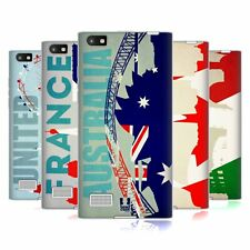 HEAD CASE DESIGNS FLAGS AND LANDMARKS SOFT GEL CASE FOR BLACKBERRY PHONES
