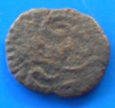 MADURAI / THANJAVUR / MYSORE / VIJAYANAGAR FRENCH Copper Coin South india -sc064