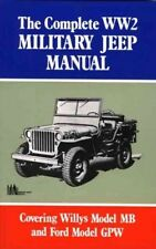 Complete WW2 Military Jeep Manual 9781855201217 by Us Army Staff, Paperback, NEW