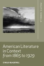 American Literature in Context from 1865 to 1929 9781405167819, Yannella, NEW