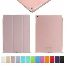 Smart Cover for All Apple iPad Magnetic Leather Cover & Back Hard Case Lot