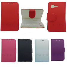 For Samsung Galaxy Pocket Neo S5310 Book Flip PU Leather Shell Case Cover S5312