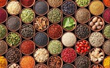 45 Kind, Fresh Natural Turkish Spices Seasoning / 50 100 200 300 g (Name:A to G)