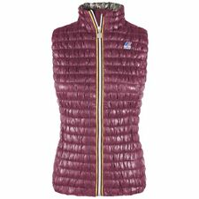 K-Way Giubbotto Giacca ZOE LIGHT PADDED STRETCH Gilet smanicato Donna