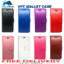 New Flip Wallet leather Case Cover For HTC Phone -Various  Models