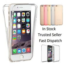 360° Shockproof TPU Silicone Protective Clear Case Cover For iPhone 6, 7, 7 Plus