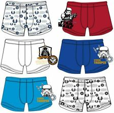 BOYS PACK OF 2 STAR WARS BOXER SHORTS UNDERPANTS UNDERWEAR