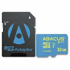 32 GB MicroSD Memory Card (SDHC) for Surveillance Camera Models/with Adapter