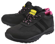 Amblers FS706 Sophie Safety Steel Toe Cap Trainers Womens Ladies Shoes UK3-9