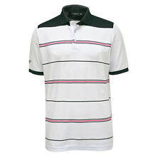 Glenmuir Engineered Stripe Polo with Smart Stretch Finish