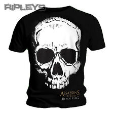 Official T Shirt ASSASSINS CREED IV 4 SKULL Black Flag All Sizes