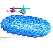 Bathroom Bath Shower Anti Non Slip Safety Safe Bathmat Floor Mat PVC Suction Cup