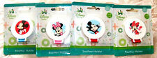 Disney Mickey Minnie Mouse Soother Holder 0 Mths + New Bpa Free