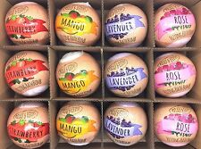 Relax & Revive Fizzy Bath Bombs Mix Fragrance, Mango, Strawberry, Lavender, Rose