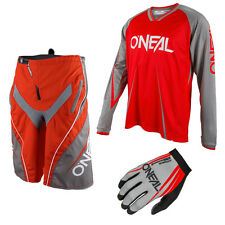 Oneal Freeride Element Blocker Mountainbike DH Combo Downhill MTB rot