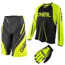 Oneal Freeride Element Blocker Mountainbike DH Combo Downhill MTB schwarz neon g