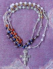 OUR LADY'S ROSARY OF THE SEVEN RAYS Franciscan Crown Liberal Catholic +Leaflet.